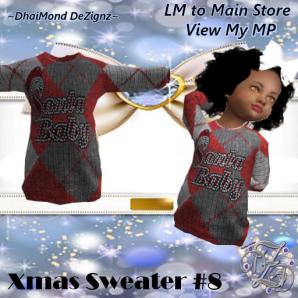 DhiaMond Dezingz - Xmas Sweater 8