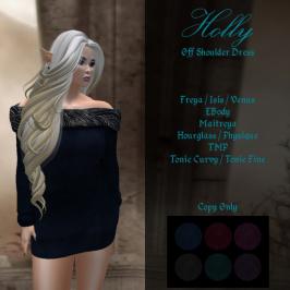 DI Holly Off Shoulder Dress AD