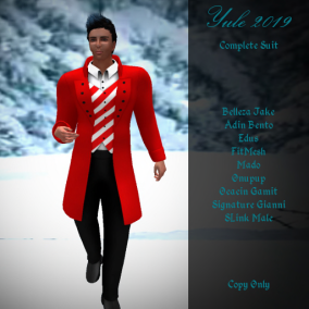 DI Yule 2019 Complete Suit AD