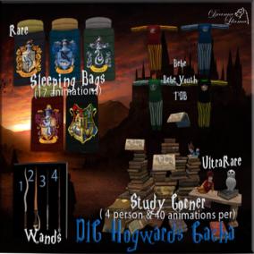 DLC Hogwards Gacha