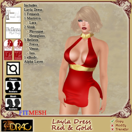[Drac] Layla Red&Gold