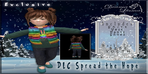 Drama Llama Couture Spread the Hope Exclusive