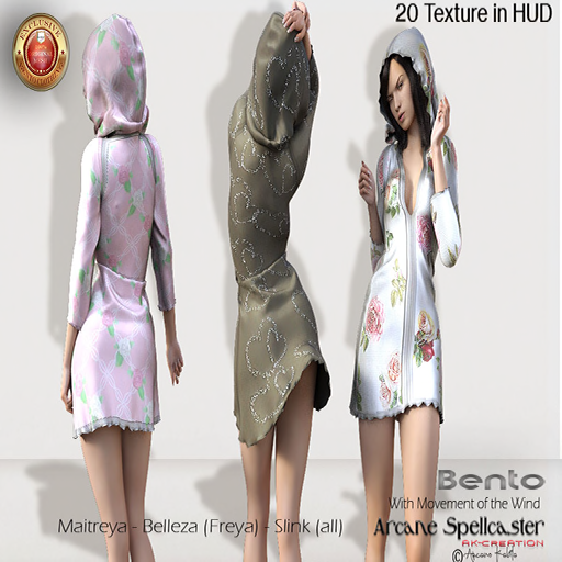 Dress Pasty BENTO _Arcane Spellcaster_