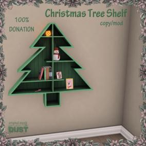 DUST Christmas Tree Shelf AD