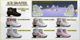 DUST ice skates gacha key