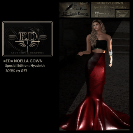 =ED= EVE GOWN - (Holiday) - RFL 100 - AD
