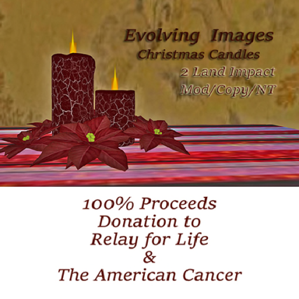 Evolving Images Candles RFL 100% x512