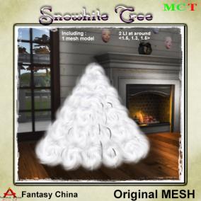 FC- Mesh Snowhite Tree CB