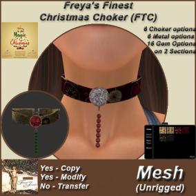 FFJ FTC Christmas Choker SL Expo 2019 TEX 100%