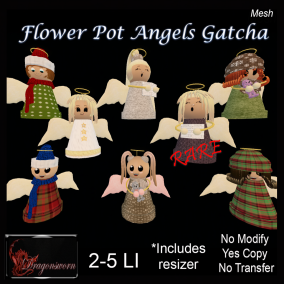 Flower Pot Angels Gatcha for EXPO-Dragonsworn