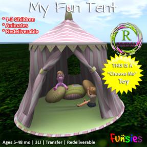 Funsies MyFunTentP-AD