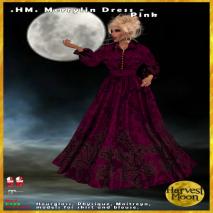 Harvest Moon -Merrylin Dress - Pink