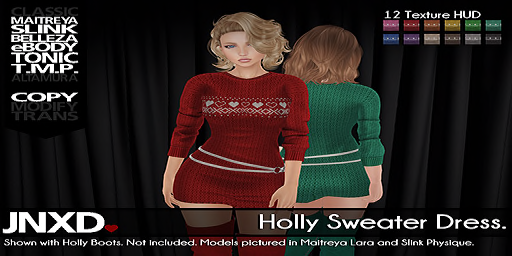 JNXD Holly Sweater Dress Preview (sm)