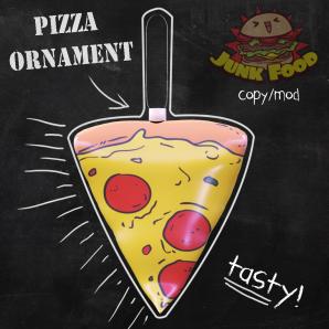 Junk Food - Pizza Ornament