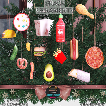 Junk Food - Snack Ornaments Gacha Ad