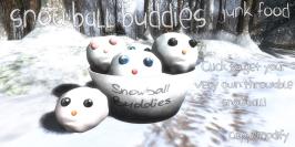 Junk Food - Snowball Buddies Advert