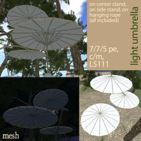 light umbrella - white 512