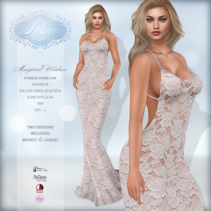 _Lurve_ Magical Wishes Formal in Blush