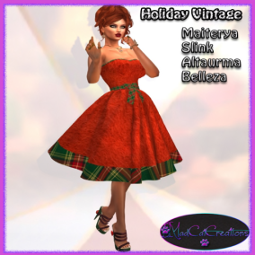 MadCat Creations- Holiday vintage special