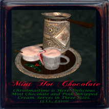 Mint Hot Chocolate 512