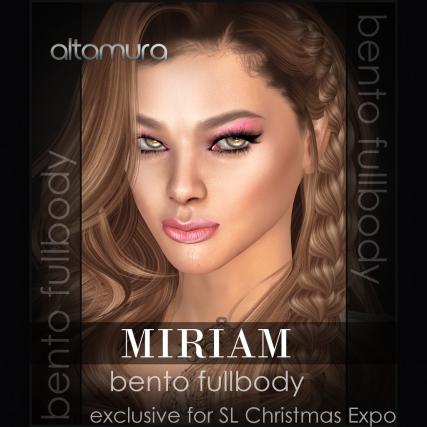 MIRIAM SL Christmas Expo