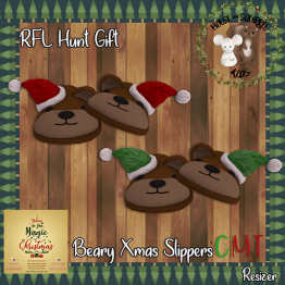 -M&S Kids- Beary Xmas Slippers Ad 512x512