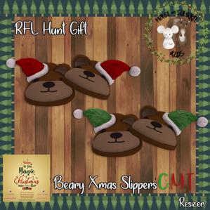 -M&S Kids- Beary Xmas Slippers Ad 512x512