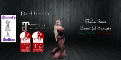 Nelia Beautiful Sangria Ad Christmas Expo
