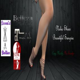 Nelia Shoes Beautiful Sangria Ad Christmas Expo