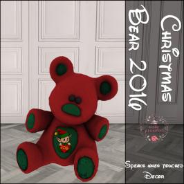 Nerdy Princess - Christmas Bear 2016