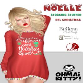 Noelle Stocking Stuffer - Running on Caffeine