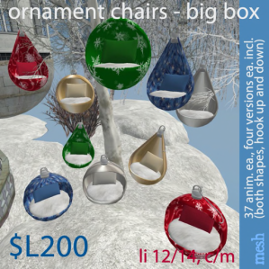 Ornament Chairs - Big Box 512