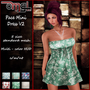 Pace Mini Dress V2 - Pic