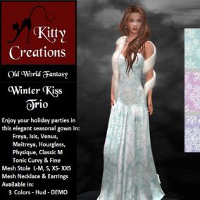 PIC Winter Kiss - Trio - Kitty Creations