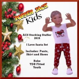 Popper Jack Kids - ACS Stocking Stuffer 2019 - Santa
