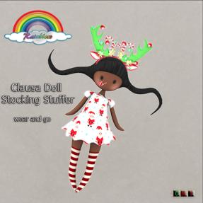 ((RBS)) Clausa Doll Stocking Stuffer