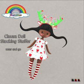 ((RBS)) Clausa Doll Stocking Stuffer