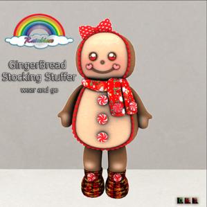 ((RBS)) GingerBread Stocking Stuffer