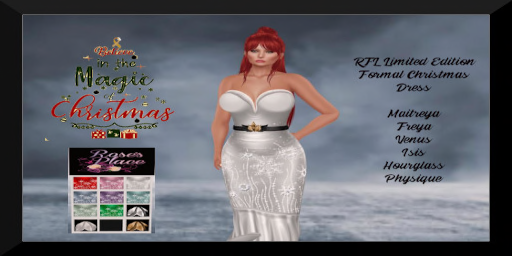 RFL Limited Edition Formal Christmas Dress