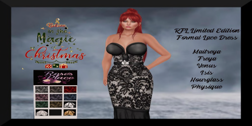 RFL Limited Edition Formal Lace Dress