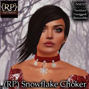 (RP) Snowflake Choker Pic