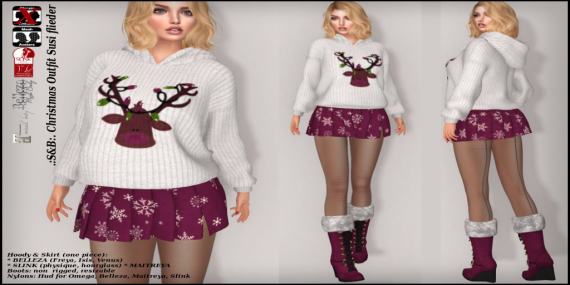 ._S&B_. Christmas Outfit Susi flieder