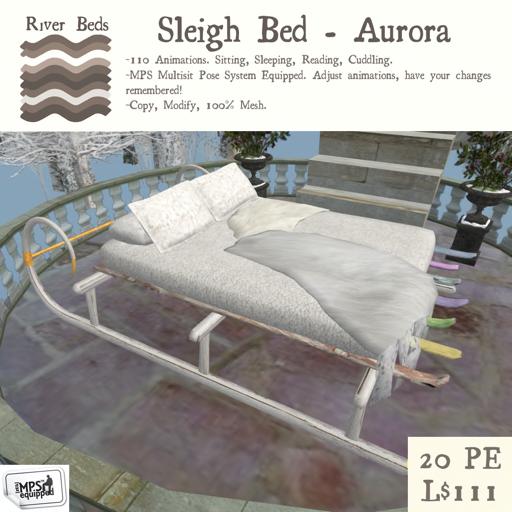 _Sleigh Bed - Aurora_ 512