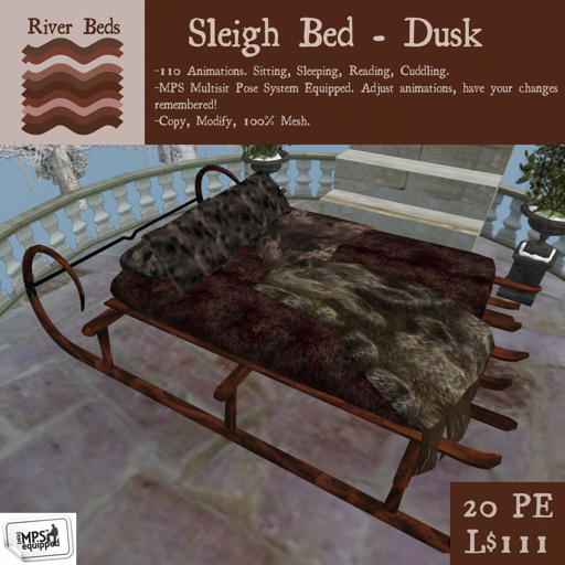 _Sleigh Bed - Dusk_ 512