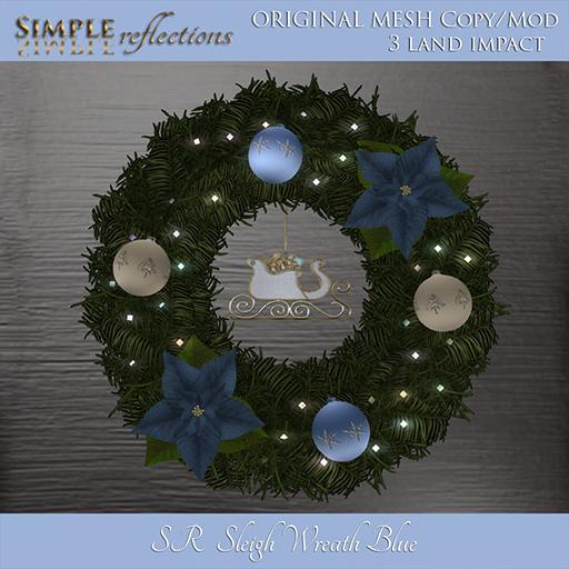 sleigh wreath blue ad 512