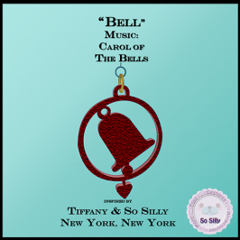 So Silly Joyful Season Music Ornament Collection - Bell