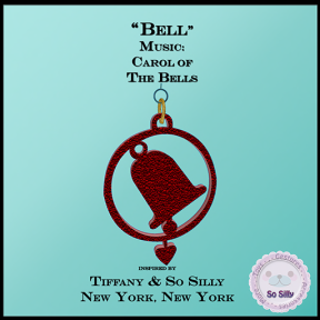 So Silly Joyful Season Music Ornament Collection - Bell