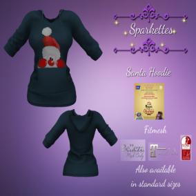 Sparkettes - Santa Hoodie