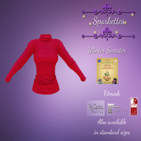 Sparkettes - Winter Sweater