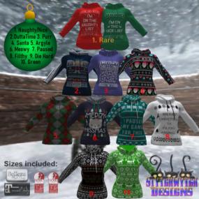~SWD~ Ugly Sweater Gacha Key